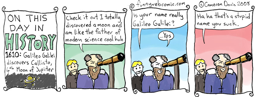 On This Day In History: January 13: Galileo Galilei