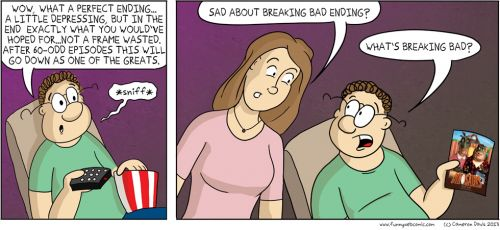 Suburban Life Stories: Breaking Bad Timing