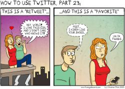 Twitter Users: The Difference between a Retweet and a Favorite